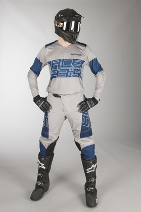 Acerbis Linear Limited Edition MX Clothes Blue-Grey