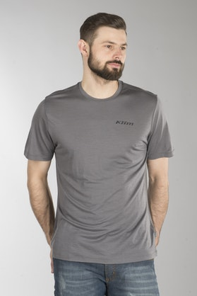 T-Shirt Klim Teton Merino Wool, Grå