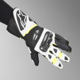 Rękawice Alpinestars SP-1 Żółte-Biało-Czarne