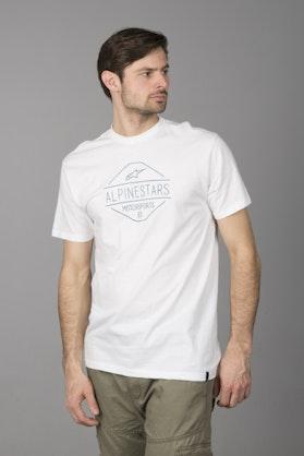 T-Shirt Alpinestars Flavor Tee Biały