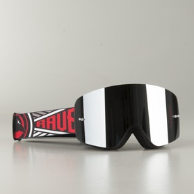 "Raven Edge ""Comrade"" MX Goggles Black Mirror"