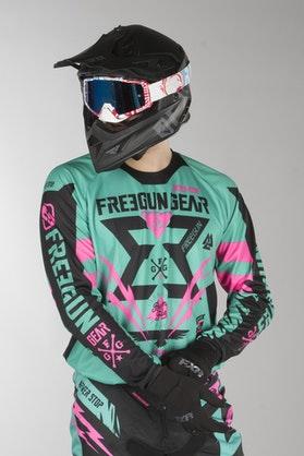 Freegun Contact Trooper MX Jersey Mint-Rosa