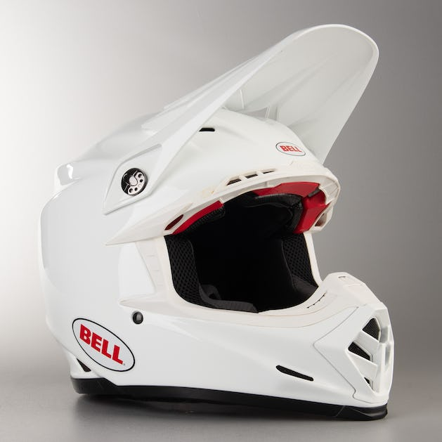 100% top quality designer fashion various colors Bell Moto-9 Flex Solid Helmet White