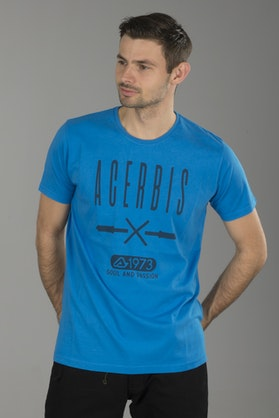 Triko Acerbis Handlebars Neonová -Světle Modrá