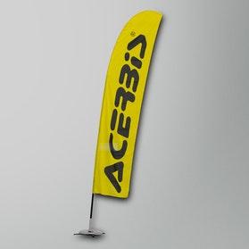 Flaga Acerbis Żółto-Czarna