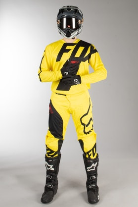 Fox 180 Mastar MX Clothes Yellow MX 18