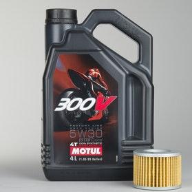 Olej W pełni syntetyczny 4L+filter oleju Motul 7100 4T 15W50