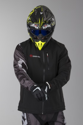 24MX Team Softshell Jacket with Detachable Sleeves