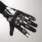 Rękawice Spidi G-Carbon Czarno-Białe