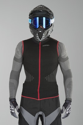 Acerbis X-Fit Back Protection Black