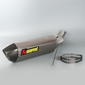 Akrapovic Slip-On-Line Silencer Titanium