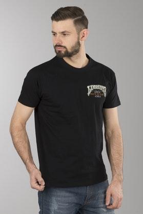 T-Shirt Lucky 13 Evilyn Czarny