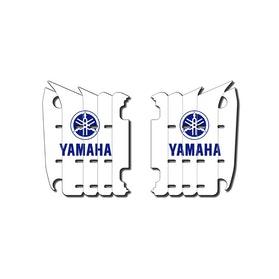Kølerskjolds-dekaler HG Stickers Yamaha Hvid