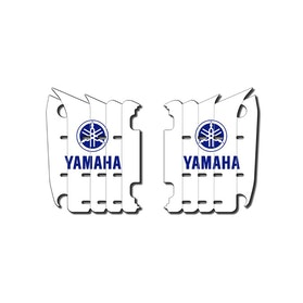HG Radiator Decal Stickers Yamaha White