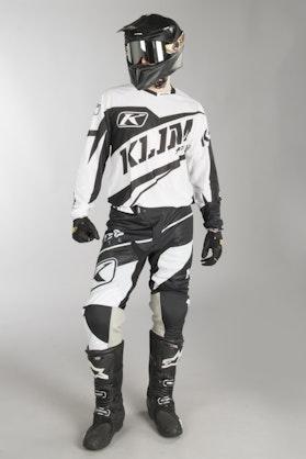 Motokrosová Souprava Klim XC Lite Černo-Bílá