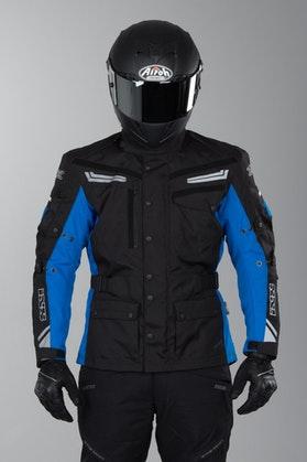 IXS Evans Jacket Black-Blue