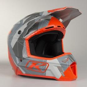 Klim F3 ECE Motocross Helmet Gray-Camo