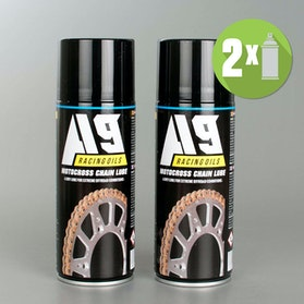 A9 Motocross Chain lube 2-pack (2 x 400ml)