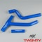 TWENTY Silicone Radiator Hose Kit Blue