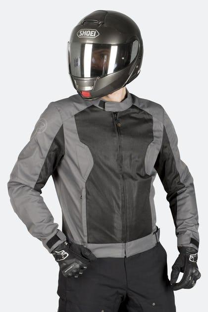 Bering Riko MC Jacket Gray-Black