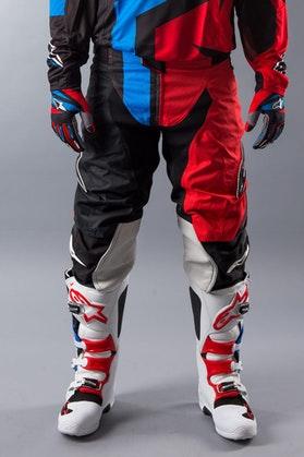 Kalhoty Alpinestars Techstar Factory Černá-Červená-Modrá