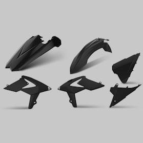 Komplet Plastików Polisport Enduro Czarny