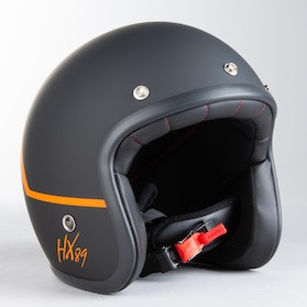 IXS 89 2.0 Helmet Matte Black-Orange