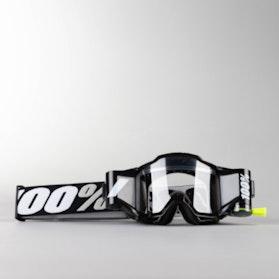 100% Racecraft Kid's MX Goggles Accuri Forecast Black