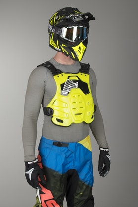 Acerbis Profile Chest Protector Yellow