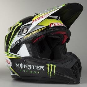 Kask cross Bell Moto-9 Flex Pro Circuit Czarno-Zielony