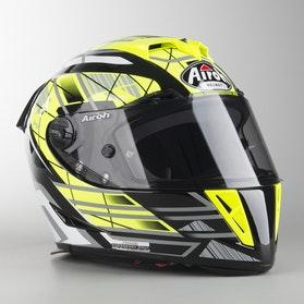 Airoh GP 500 Drift Hemet Yellow Shine