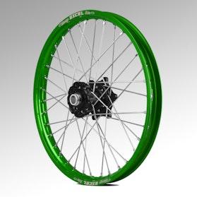 Talon Front Wheel Black-Green