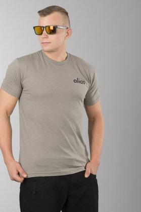 T-Shirt Alias Static Stone