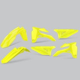 Komplet Plastików Polisport Enduro Neonowożółty