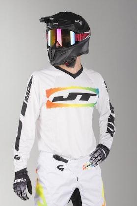 Bluza Cross JT Racing C4-Rasta WHTMUL