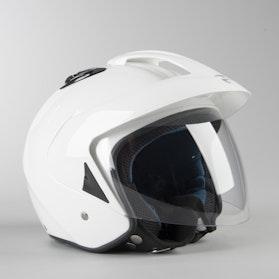 RXA Monaco Open Helmet White
