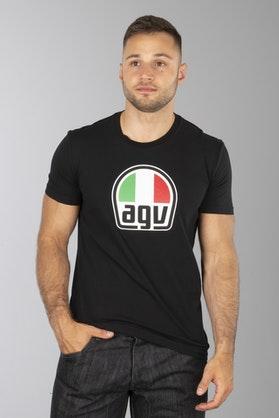T-Shirt AGV Czarny