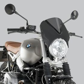 Owiewka Puig Retrovision BMW Karbon-Ciemna Przydymiona