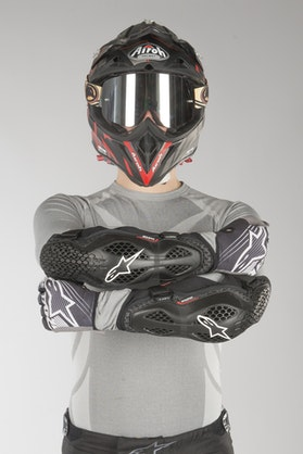 Alpinestars Sequence Elbow Protection - Black-Red