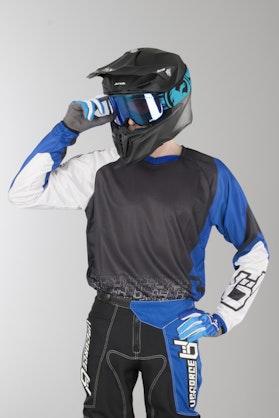 Bluza Cross Upforce Czarno-Niebieska
