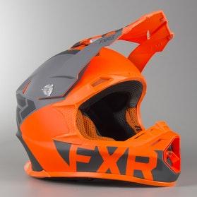 Kask Cross FXR Blade 2.0 Helium Flo Pomarańczowo-Szary