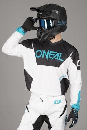 Bluza Cross O'Neal Element Racewear Biała