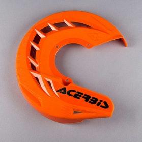 Acerbis X-Brake Front Brake Disc Protection - Orange