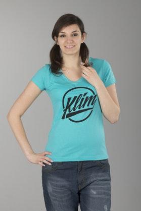 Klim Ladies Script T-Shirt Blue