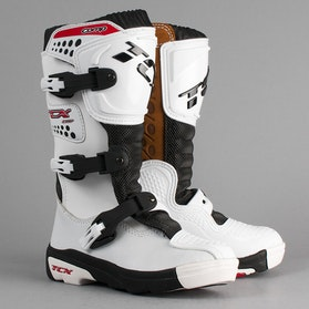 Buty dziecięce cross TCX Comp, białe
