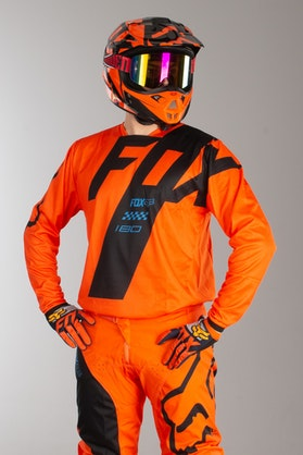 Fox 180 Mastar MX Jersey Orange MX 18
