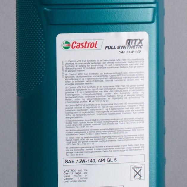Olej przekładniowy Castrol MTX