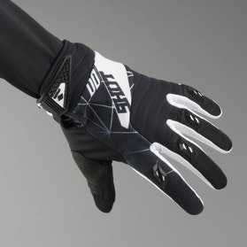 Shot Contact Infinite MX-Gloves Black-White