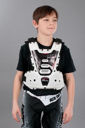 Brystbeskyttelse RXR Protect Børn Strongflex Hvid