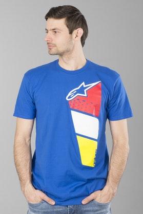 T-Shirt Alpinestars Rhythm Tee Królewski Niebieski